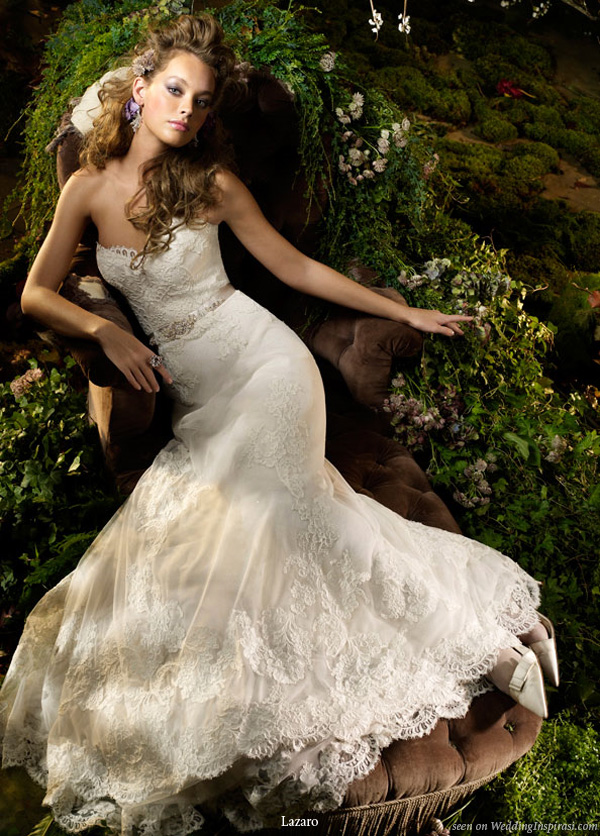 Outstanding Lazaro Lace Wedding Dresses 600 x 836 · 242 kB · jpeg