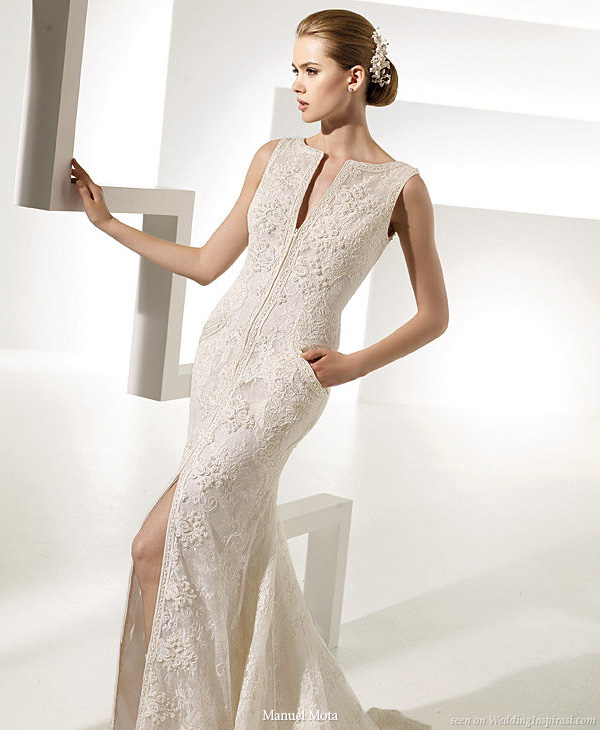 Tarot gown by Manuel Mota for Pronovias 2010 wedding dress with pockets