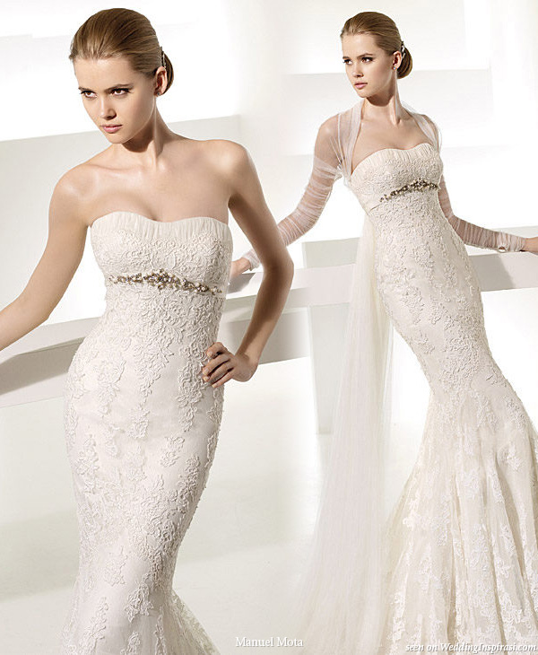 Manuel Mota for Pronovias 2010 bridal gown collection - Silaba wedding dress