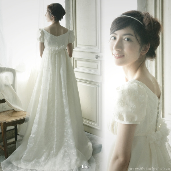 luce classica wedding dress collections wedding inspirasi