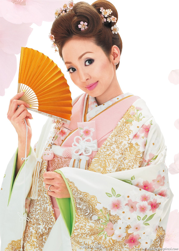 Scena D'uno Japanese wedding kimono wasou collection