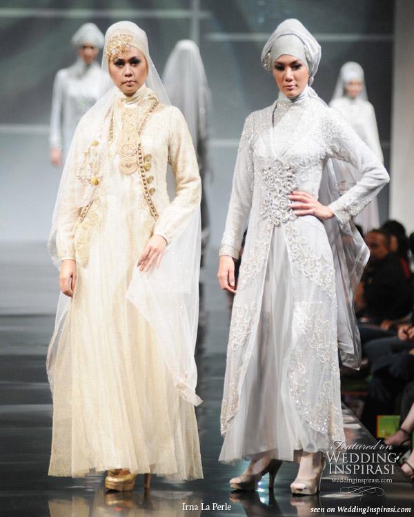 Islamic Wedding Gown: Irna La Perle Modest Wedding Dress Inspiration
