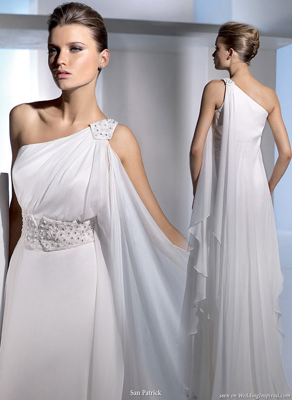 Roman Inspired Wedding Dresses 107