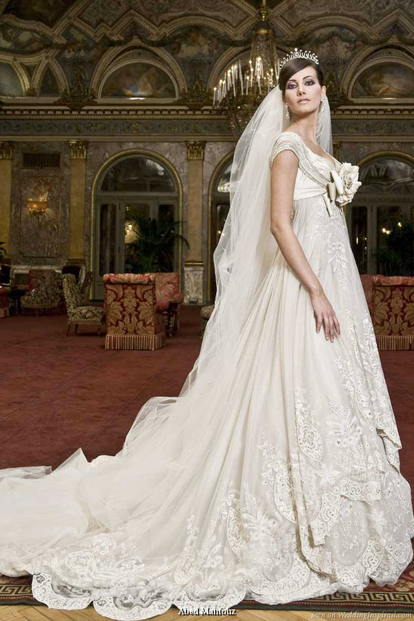 Abed Mahfouz wedding dress from the 2009 bridal collection