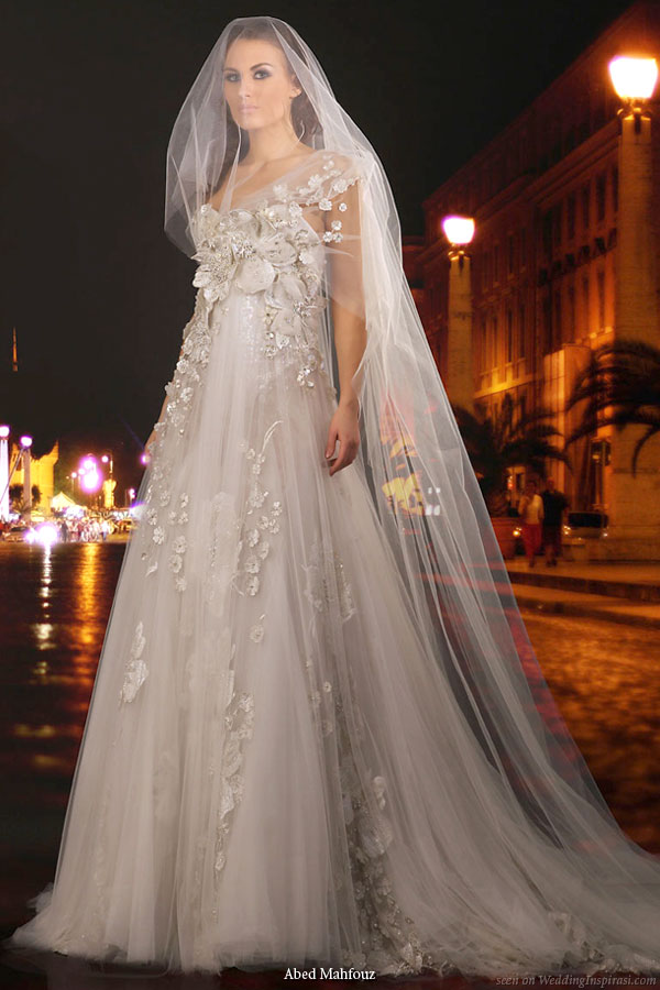 Wedding dress from Abed Mahfouz bridal collection 2010