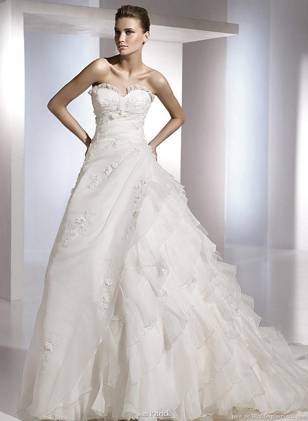 San Patrick 2010 Bridal Collection | Wedding Inspirasi
