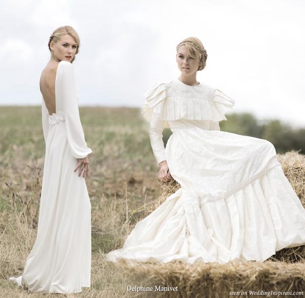 Delphine Manivet Unique, Retro Wedding Dresses