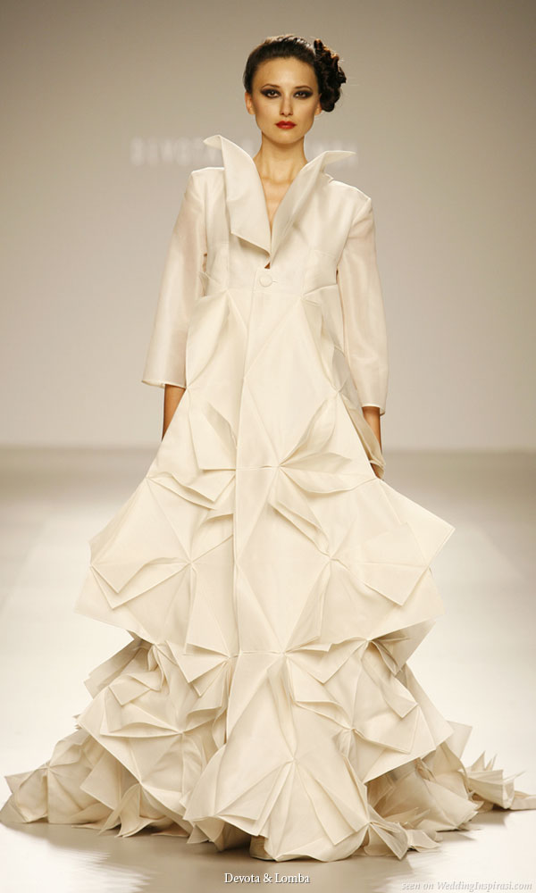 Design // Wedding on Pinterest | Origami, John Galliano ... - photo#27