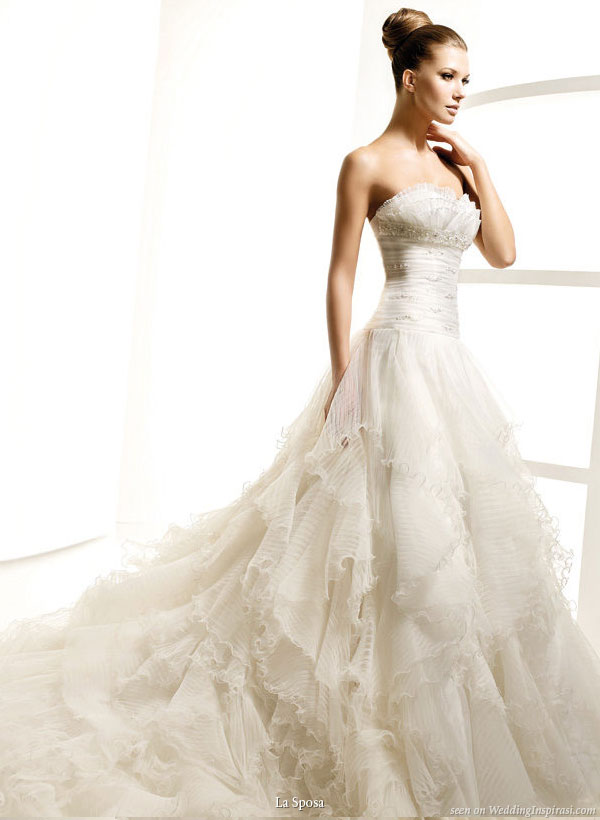 La Sposa 2010 Bridal Gown Collection | Wedding Inspirasi