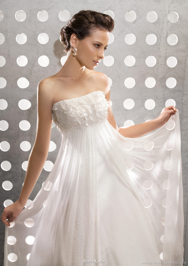 ultra gorgeous gowns from maria karin s 2010 wedding dress collection