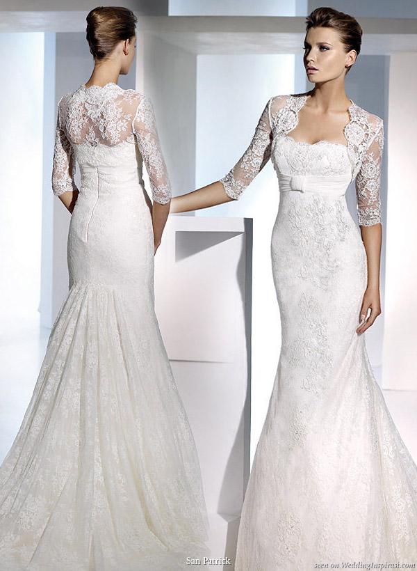 Wedding Dresses Bolero.San Patrick 2010 Bridal Collection Wedding Inspirasi