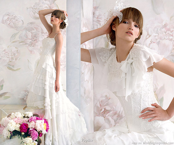 Beautiful shoulder cover cape for wedding gown