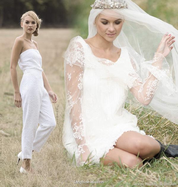 Bridal Pant Suits