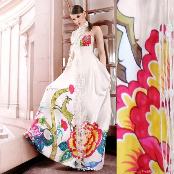 color wedding jorge terra - Gelinlik Modelleri