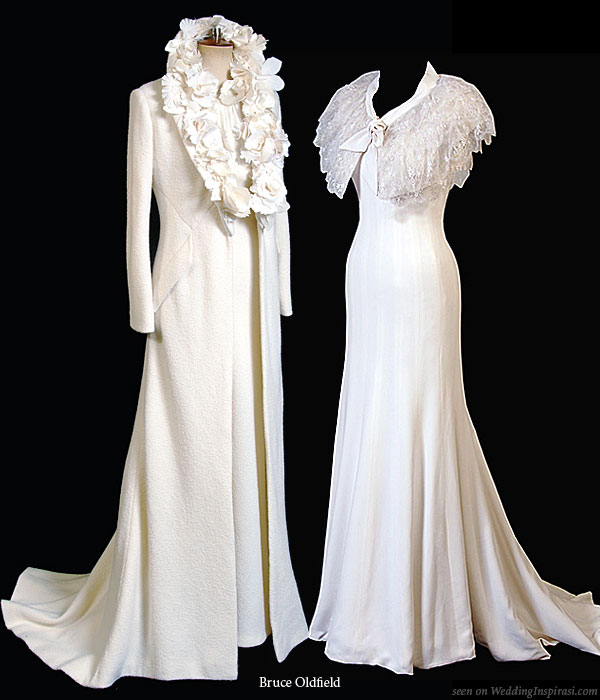 Bruce oldfield wedding collection wedding inspirasi for Coats for wedding dresses