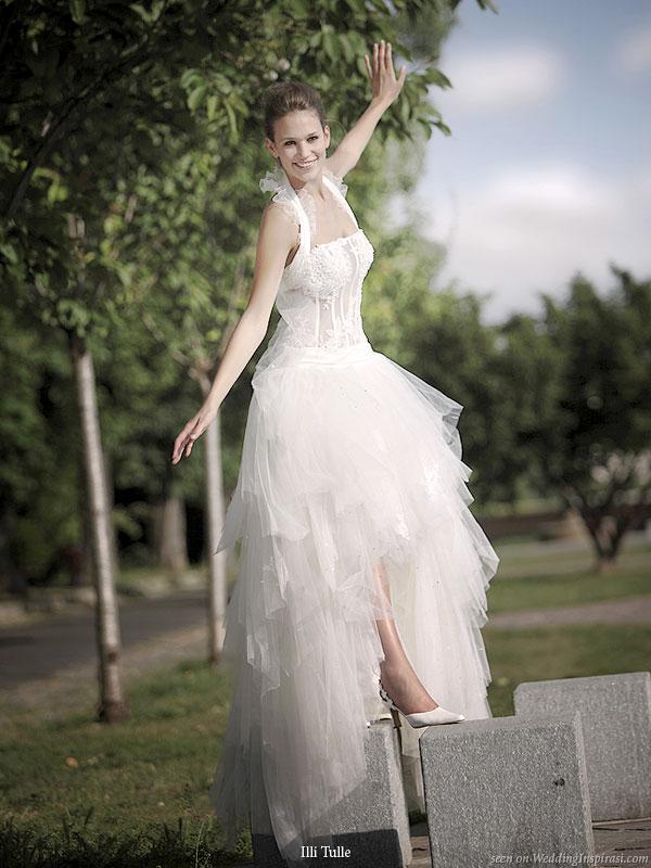 Wedding Dresses  France : Illi tulle bridal collection wedding inspirasi