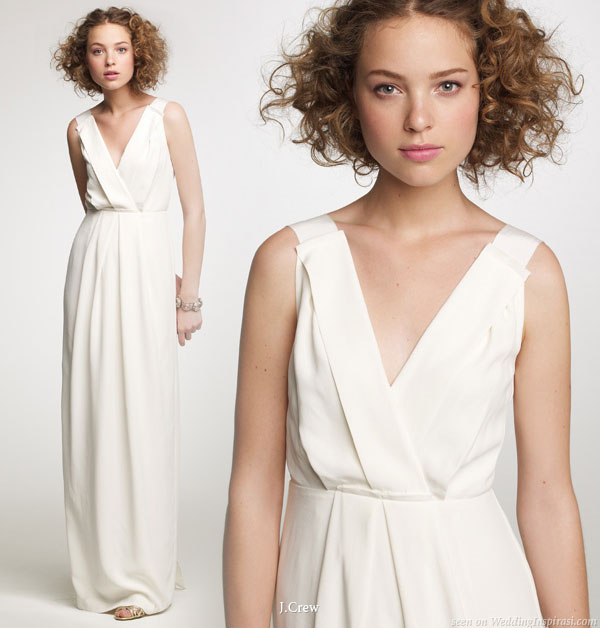 J crew fall 2010 wedding gown collection wedding inspirasi for J crew wedding dresses
