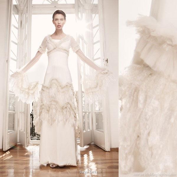 jorge terra wedding dress - Gelinlik Modelleri