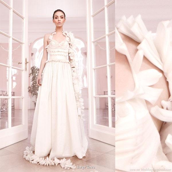 jorge terra wedding novias - Gelinlik Modelleri