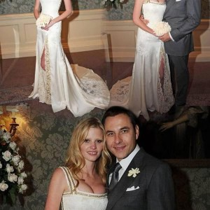 Lara Stone Wedding Dress By Givenchy Riccardo Tisci
