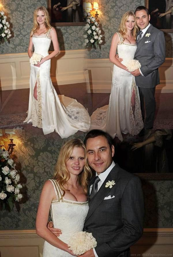 Latest lara stone wedding dress revealed custom designed givenchy lara stone wedding dress by givenchy riccardo tisci full length photo of laras dress junglespirit Image collections