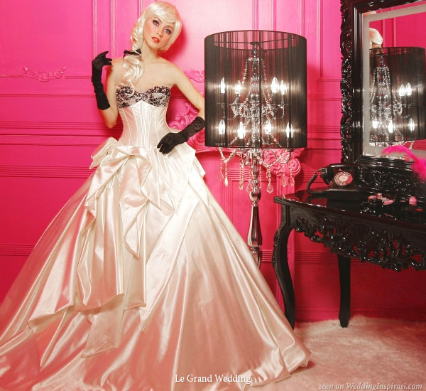 Bridal Gowns From Le Grand Wedding Wedding Inspirasi
