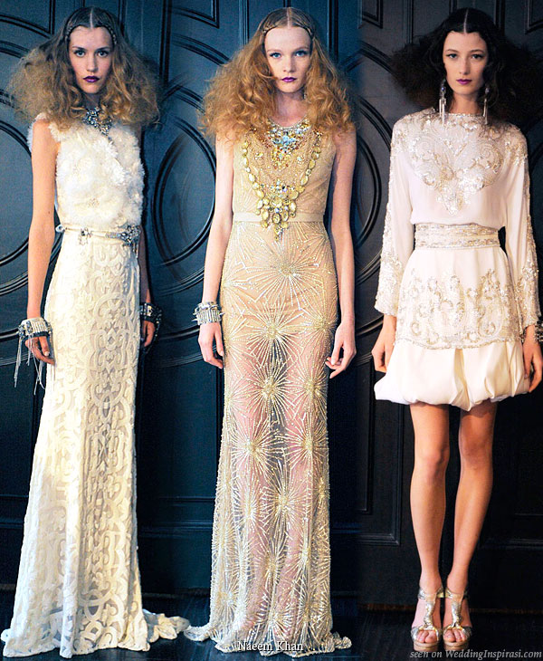 Naeem Khan Wedding Gowns: Naeem Khan 2010 Collections