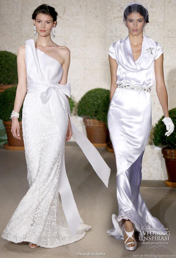Oscar de la Renta Spring/Summer 2011 bridal collection - elegant wedding gowns