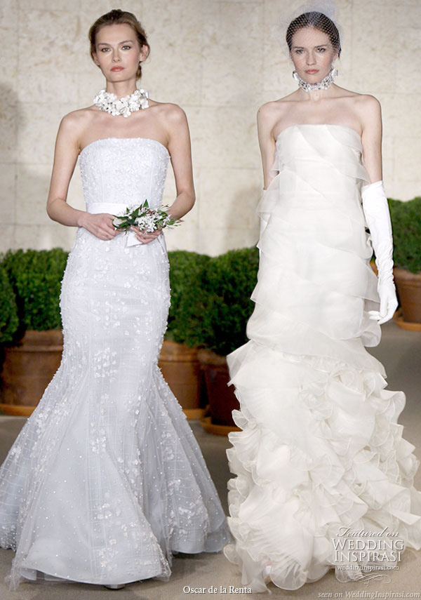 Oscar De La Renta Spring 2011 Wedding Gowns Wedding