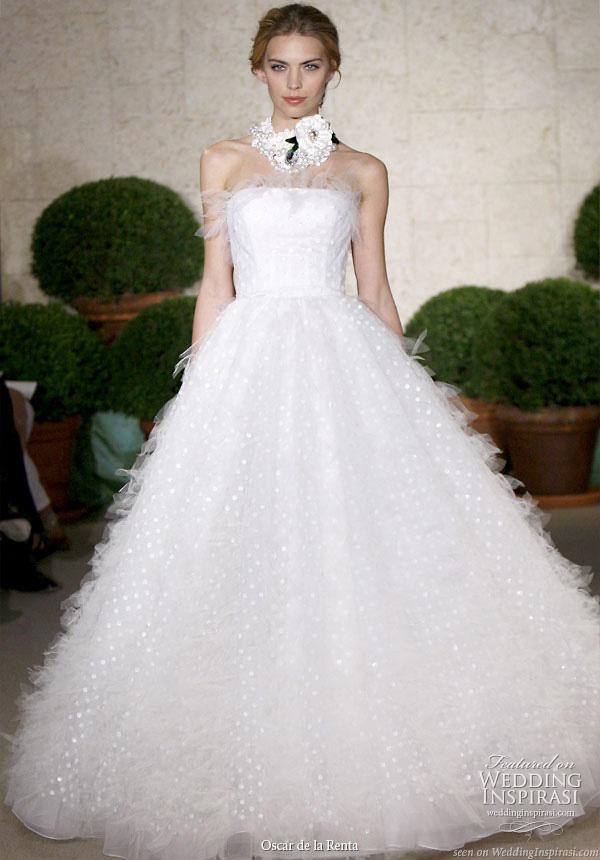 Oscar De La Renta Spring 2011 Wedding Gowns Wedding