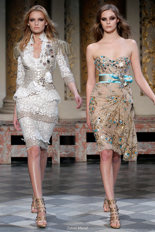 zuhair murad couture spring summer 2010 wedding inspirasi