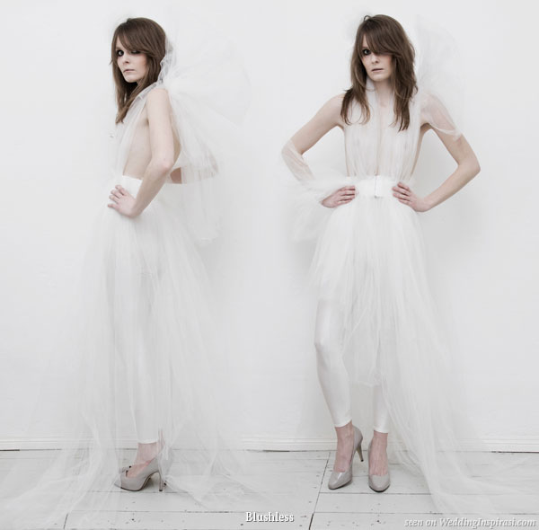 Blushless EcoFriendly Wedding Dresses