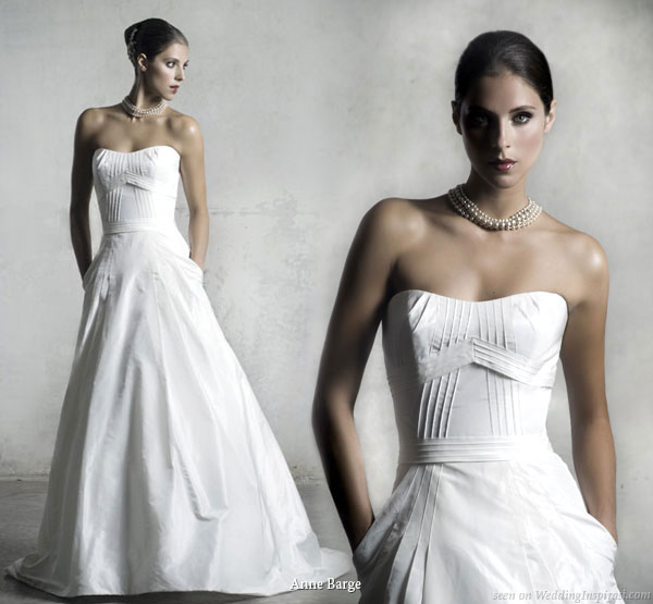 Wedding Gown With Pockets: Anne Barge Wedding Gowns