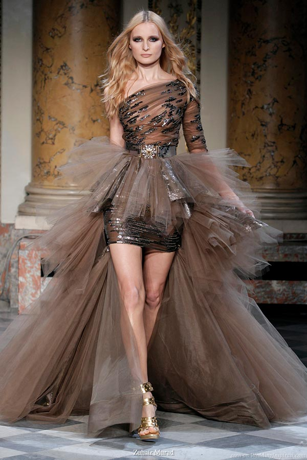 Zuhair Murad Officer's Muse Spring/Summer 2010 couture collection
