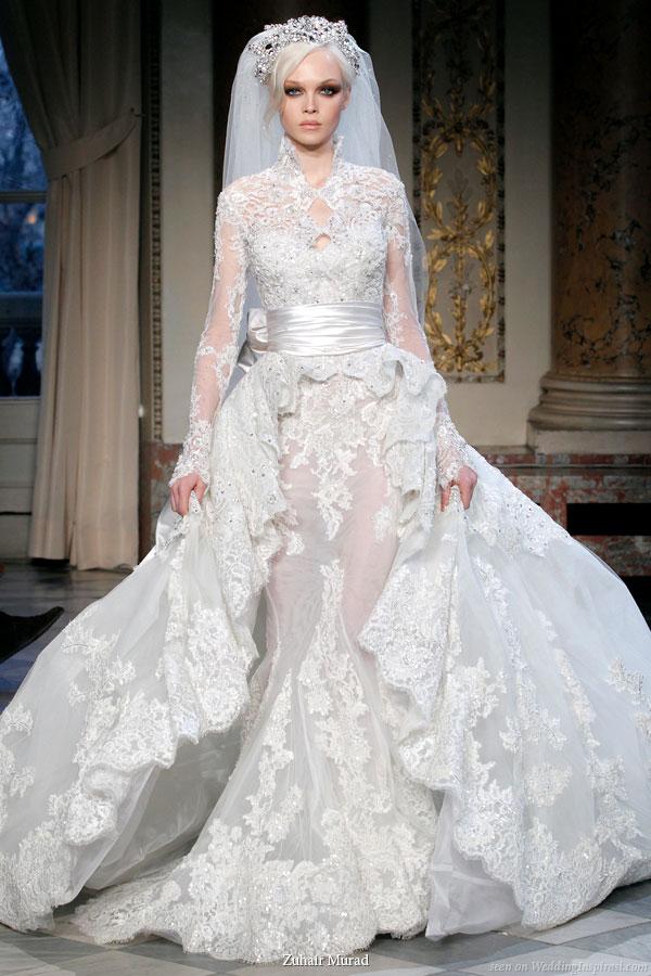 zuhair murad couture springsummer 2010 wedding inspirasi