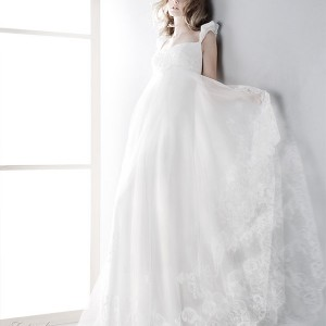 Jesus Peiro 2010 bridal gown collection - beautiful wedding dress with straps