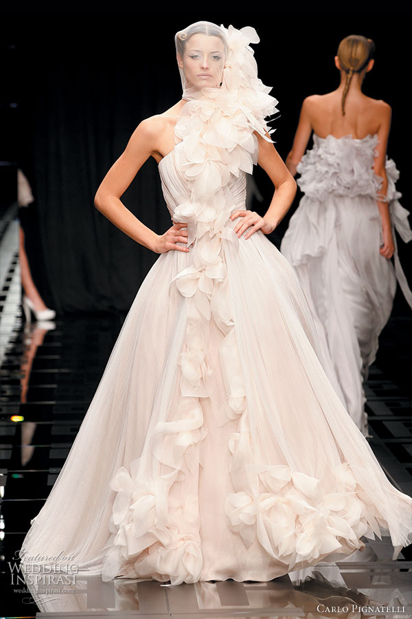 Carlo Pignatelli 2010 Opere collection - romantic wedding dress ideas