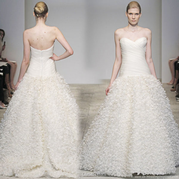 Christos Spring 2011 Bridal Gown Collection - Forget Me Knot wedding dress