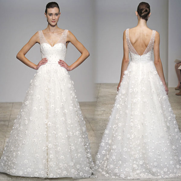 Christos Spring 2011 Bridal Gown Collection - Arabella wedding dress