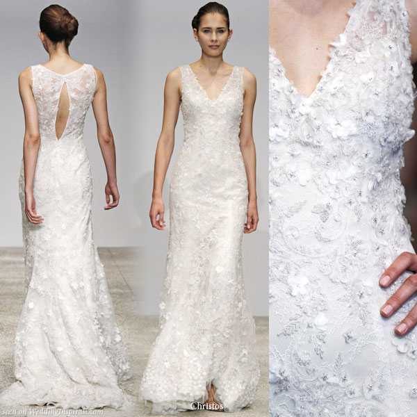 wedding dress 2011 trends. Christos Spring 2011 Bridal
