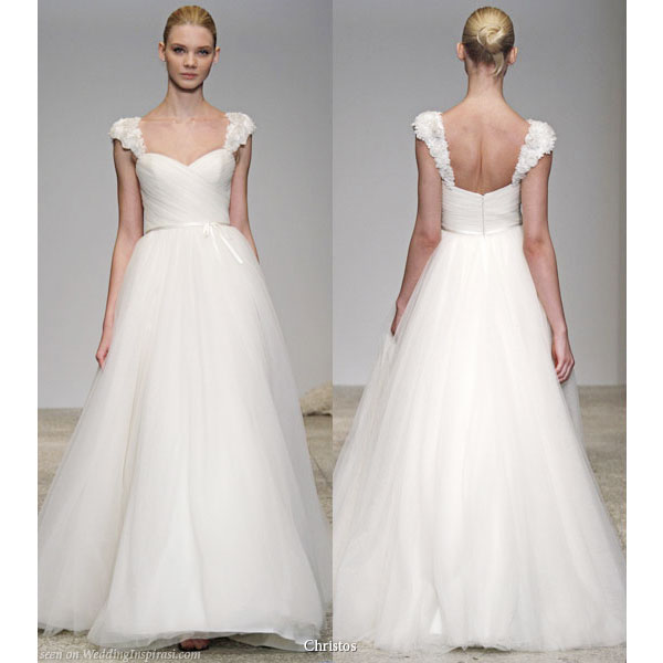 Christos Spring 2011 Bridal Gown Collection - Brisa wedding dress