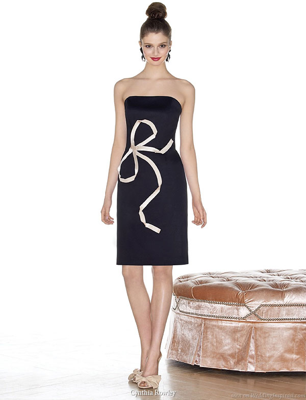 Cynthia Rowley new designer bridesmaid dress collection is  available online at Dessy Group website