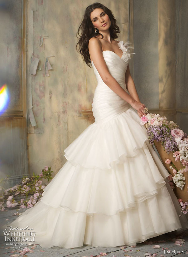 Jim Heljm Wedding Dresses.Jim Hjelm Wedding Dresses Fall 2010 Wedding Inspirasi