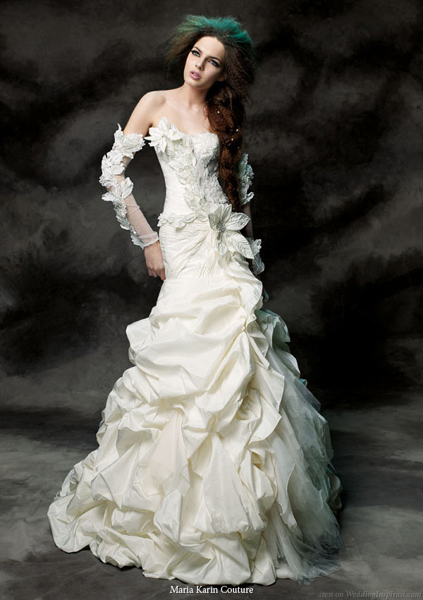 Back Out Wedding Dresses 20