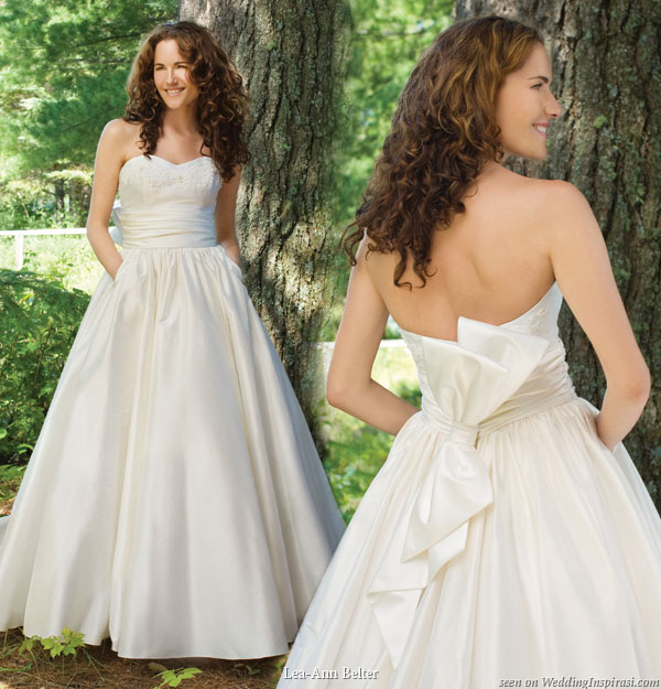 Wedding Gown With Pockets: Lea-Ann Belter 2010 Wedding Dress Collection