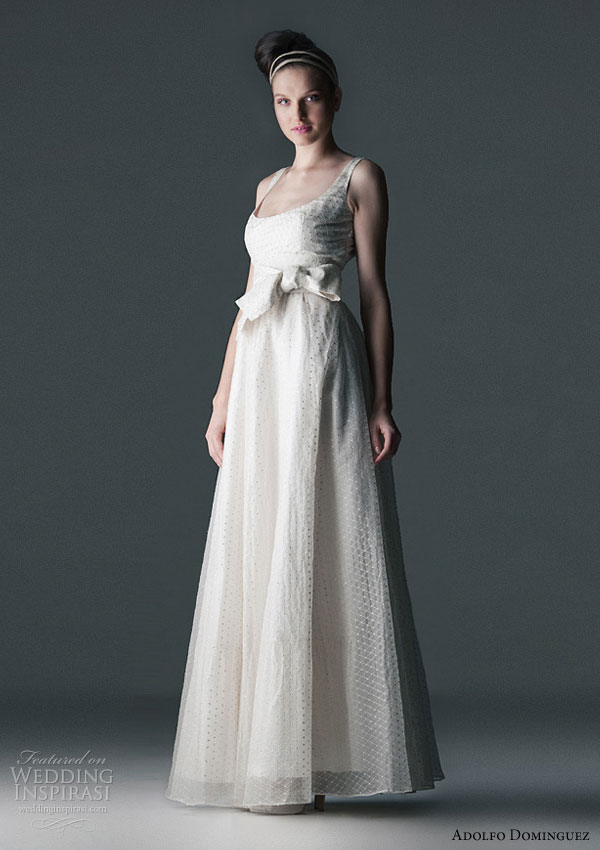 wedding dresses by adolfo dominguez wedding inspirasi