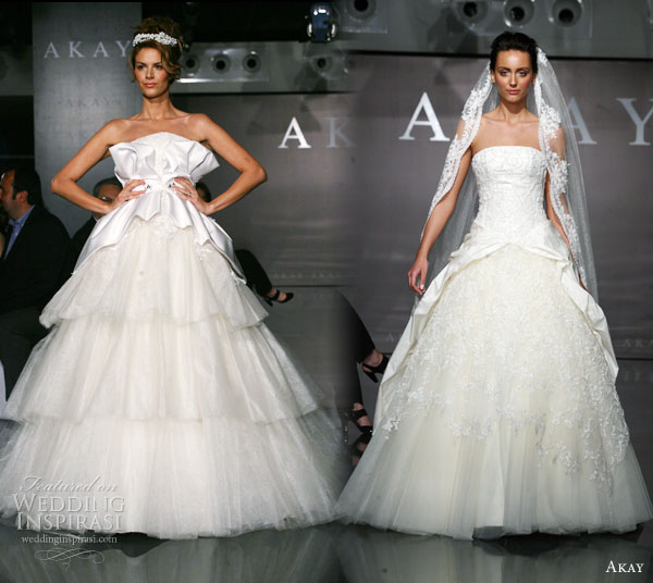 Akay bridal 2011 pre collection wedding inspirasi for Wedding dresses in turkey
