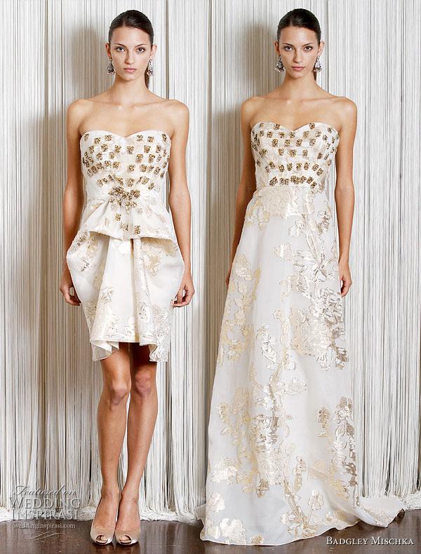 Badgley Mischka Resort 2011 Gowns | Wedding Inspirasi