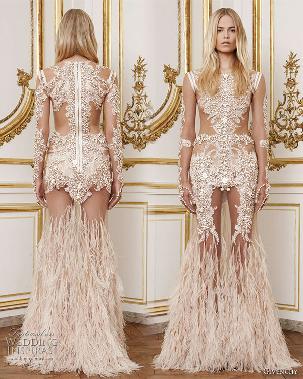 Givenchy Fall 2010 Haute Couture Collection Wedding
