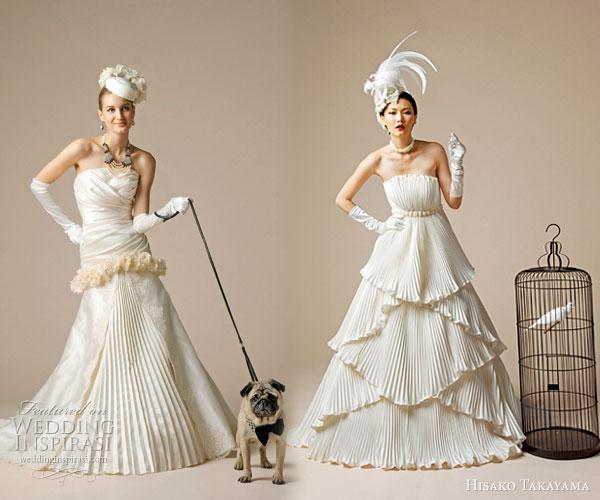 Hisako Takayama Western Wedding Dresses & Japanese Bridal